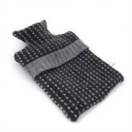 Dark Grey Mini Hotwater Bottle